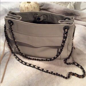 Rebecca Minkoff Gray Leather Purse